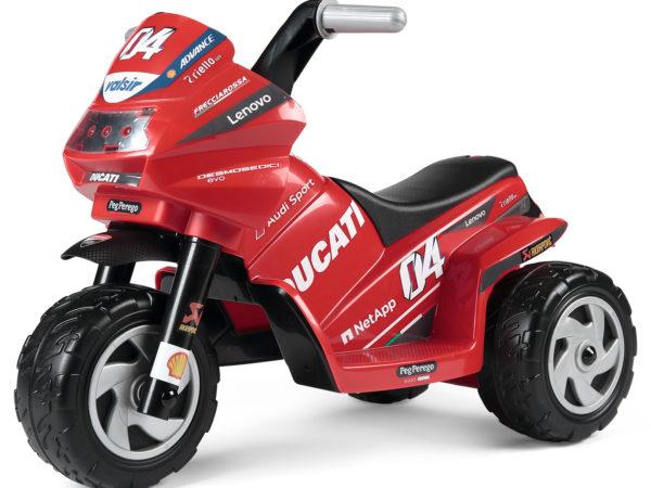 Elektrická trojkolka Ducati Mini Evo 2020