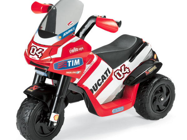Elektrická trojkolka Ducati Desmosedici