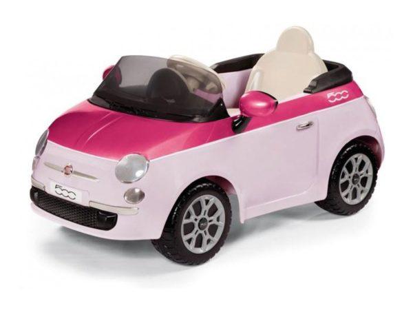 Elektrické autíčko Fiat 500 6V Pink