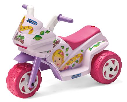 Elektrická trojkolka Princess mini