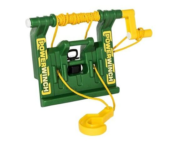 Rolly Toys naviják za traktory JD, zelený