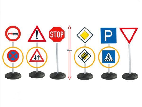BIG – sada 10 dopravných značiek